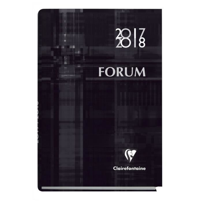 Carte Cdiscount Forum 2018.1 Agenda Forum Metric 2017 2018 21 X 15 Cm Multilingue Couleur