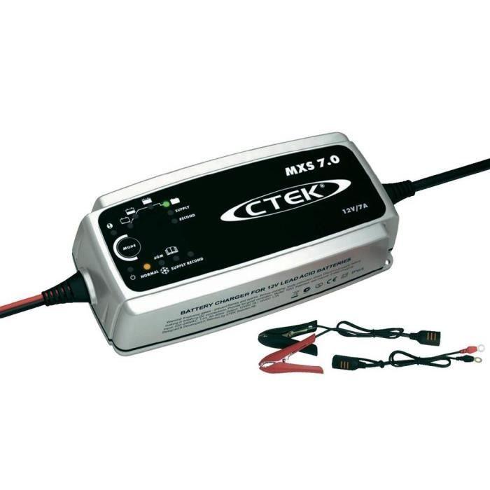 CHARGEUR DE BATTERIE Chargeur automatique Ctek Multi XS 7000