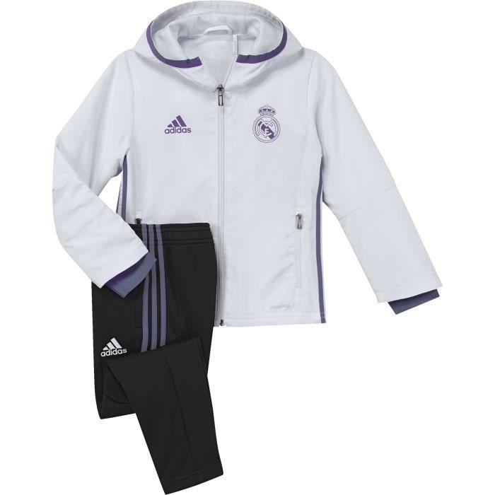 eac2eed501d Survêtement Kid Real Madrid 2016-2017 - Prix pas cher - Cdiscount