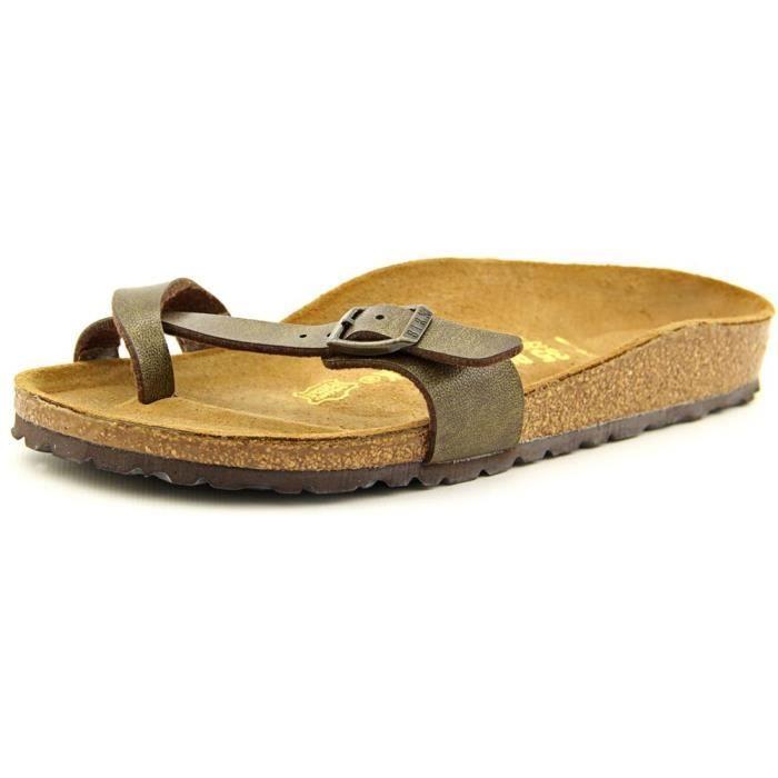 Maintenant 15% De Réduction: Cuir Imitation Sandales Birkenstock 87eiAWGS