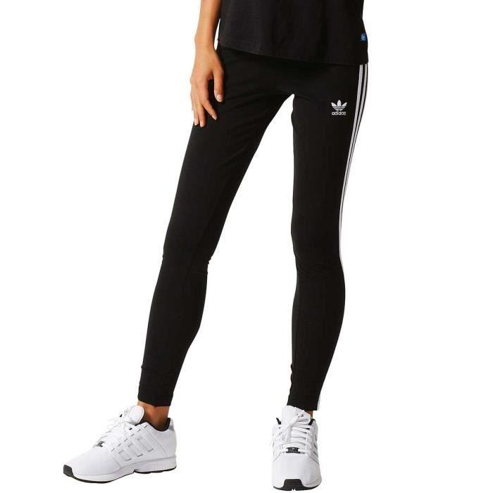 Legging adidas Originals 3 Stripes - AJ8156 Noir - Achat   Vente ... 17e373771e3