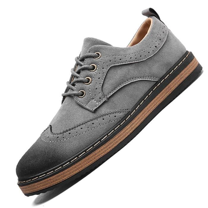 Sneaker Hommes Durable Antidérapant Sneakers Nouvelle Mode Confortable Chaussure Supérieure Respirant Grande Taille 39-44