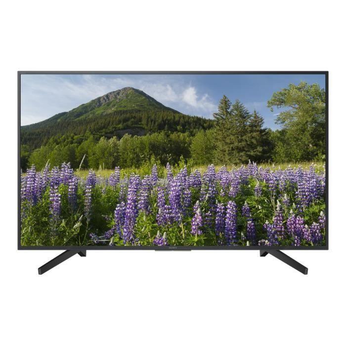 """Téléviseur LED Sony KD-49XF7096 Classe 49"""" (48.5"""" visualisable) X"""