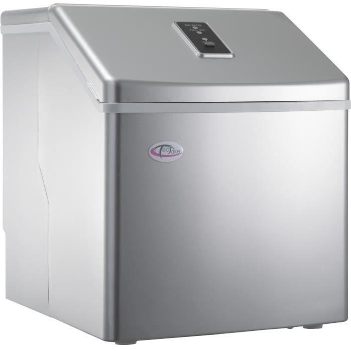 25634cdda4f8e0 TECTAKE Machine à Glaçons 24 Glaçons en 15 à 30 Minutes 35 cm x 30,5 cm x  36 cm Gris