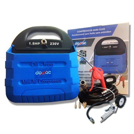 Compresseur sans cuve 1,5CV avec kit gonflage - Achat   Vente compresseur  Compresseur sans cuve 1,5CV - Cdiscount 208d287551e8