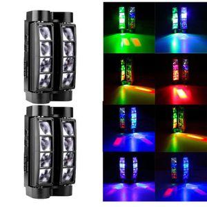 LAMPE ET SPOT DE SCÈNE 2pcs 60W LED Lyres de Scène DMX512 Disco Pub Fête
