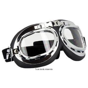lunettes moto vintage achat vente pas cher. Black Bedroom Furniture Sets. Home Design Ideas