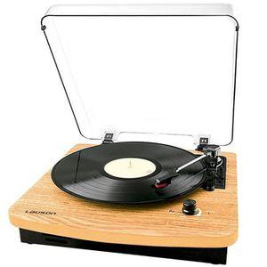 lauson cl608 platine vinyle bluetooth 33 45 78 rpm usb rca haut parleurs int gr s. Black Bedroom Furniture Sets. Home Design Ideas