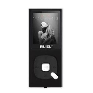 LECTEUR MP3 RUIZU X28 MP3 Lecteur 8GB Haute Qualité Sonore San