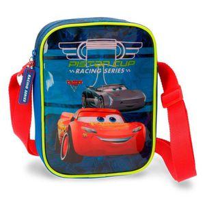 SACOCHE CARS - Sacoche bandoulière bleue PISTON CUP Cars D