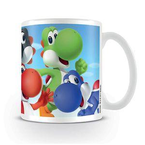 BOL - MUG - MAZAGRAN Tasse Nintendo Super Mario Bros. - Yoshi  blanc, i