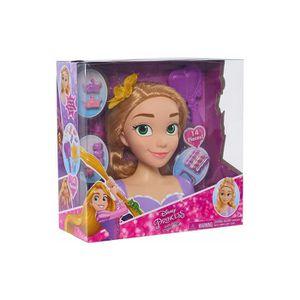 TÊTE À COIFFER Tete A Coiffer Princesse Raiponce 14 Accessoires -