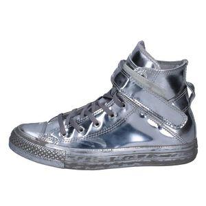 818de64ae7802 BASKET CONVERSE Chaussures Femme Baskets Argenté BT659