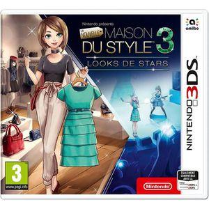 JEU 3DS La Nouvelle Maison du Style 3 Looks de Stars 3DS+1