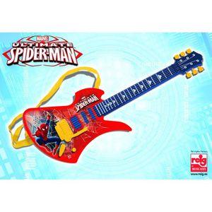 INSTRUMENT DE MUSIQUE SPIDERMAN Guitare 6 cordes