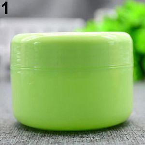 PALETTE DE MAQUILLAGE  5 pots de crème - lotion pour le visage de voyage