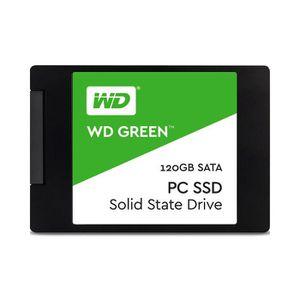 DISQUE DUR SSD WD vert 120 Go PC SSD SATA 6 Go - s 2,5 pouces à l
