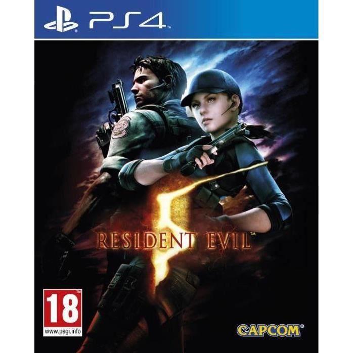 JEU PS4 Resident Evil 5 Jeu PS4