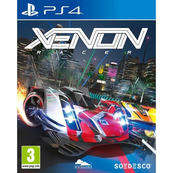JEU PS4 NOUVEAUTÉ Xenon Racer Jeu PS4