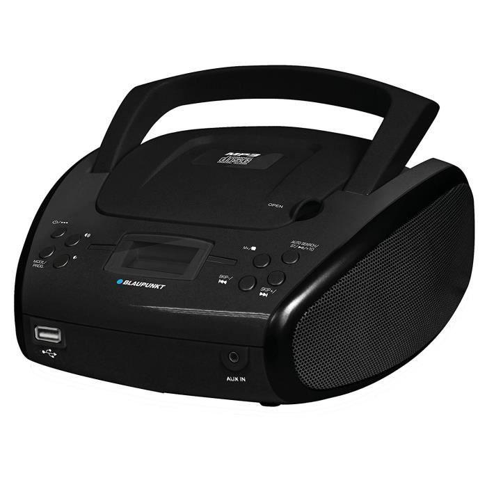 Lecteur Radio-cd Avec Bluetooth, Noir Blaupunkt Blp-8300