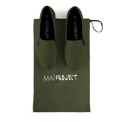 chaussures MAI PROJECT vert bouteille mWcL156M4n
