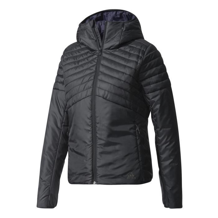 Cdiscount Cdiscount Cytins Femme Pas Pas Pas Hooded Veste Cher Padded Prix Adidas aW8SSE