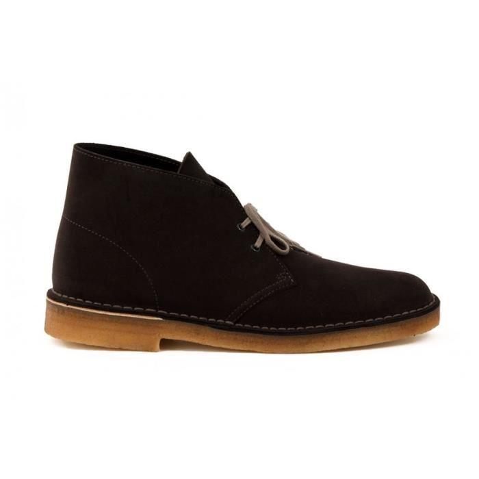 Chaussures Clarks Desert Boot Dark Grey Sde