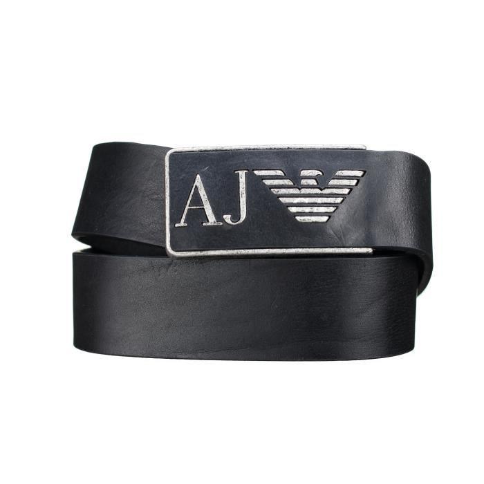 82d5548065c1 Ceinture Armani Jeans 931504 - Cc881 00020 Noir Noir Noir - Achat ...