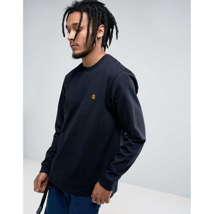 revendeur 6990b 4c52f Carhartt Wip Chase - T-shirt manches longues coupe classique ...