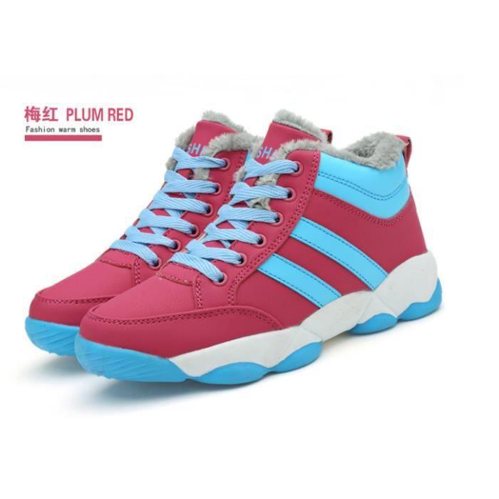 en cachemire coton Chaussures en pour Basket d'escalade Chaussures femme qZEtU