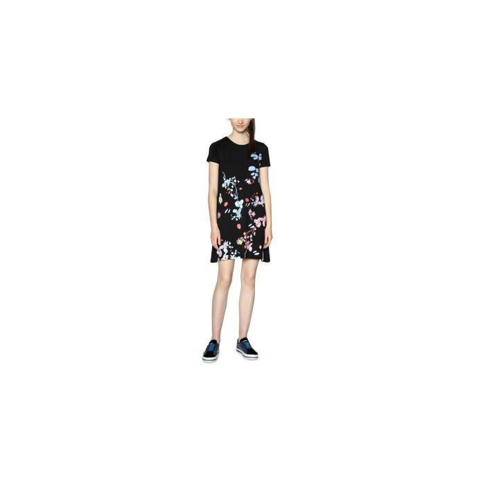 Desigual Robe Ciceron Noir 18SWVK56