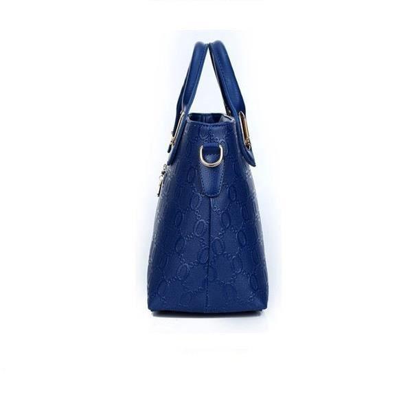 Demeuble-6887 Mode poignée sur le dessus Sacs de luxe une épaule sac à bandoulière Sac Messenger Bag 4 en 1