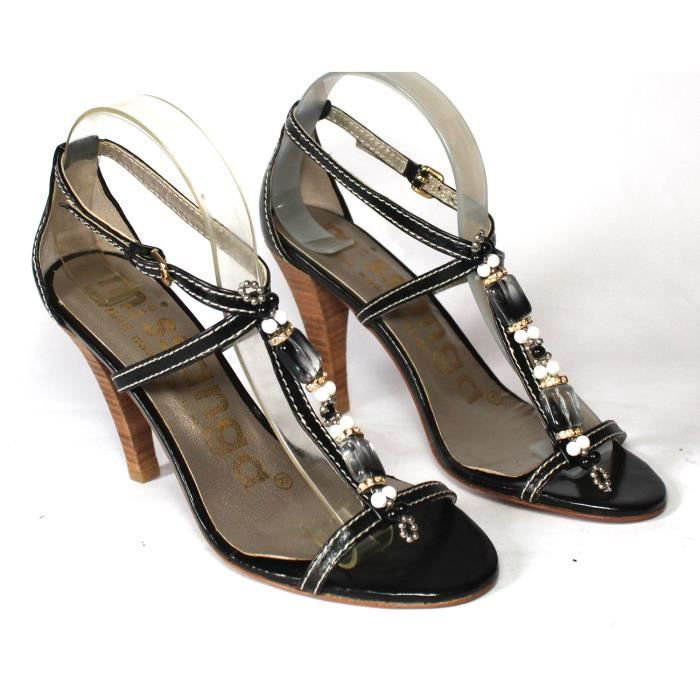 CHAUSSURES LUXE FEMME SANDALES 100 CUIRT 37 uPFfw - promenade-a ... 475252493dab