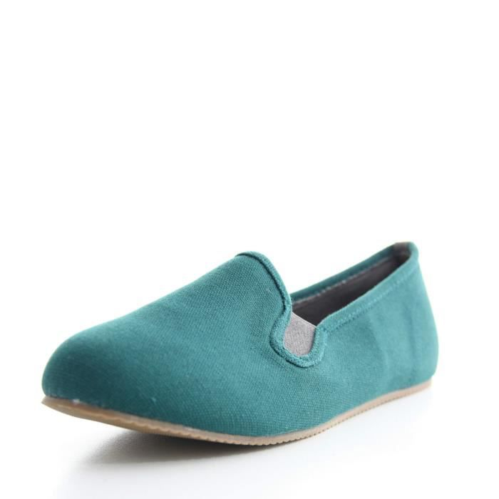 chaussures MAI PROJECT vert bouteille