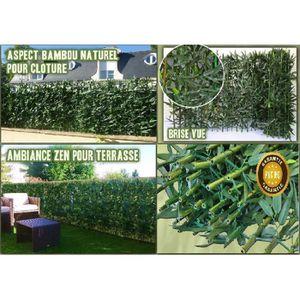 brise vue jardin bambou achat vente brise vue jardin bambou pas cher cdiscount. Black Bedroom Furniture Sets. Home Design Ideas