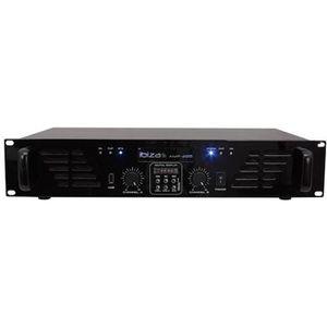 IBIZA SOUND AMP300USB-BT Amplificateur de sonorisation avec Bluetooth USB - 2 x 240W - Noir
