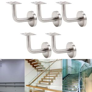 RAMPE - MAIN COURANTE 5x Support Main Courante Escalier Couloir Fixation