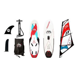 STAND UP PADDLE Stand up paddle gonflable Champion Windsurf Rouge