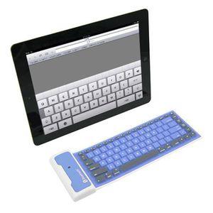 CLAVIER D'ORDINATEUR ouniondo® Étanche Fold sans fil Bluetooth clavier