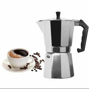 COMBINÉ EXPRESSO CAFETIÈRE Uarter Coffee Pot Théière En Aluminium Espresso Bo