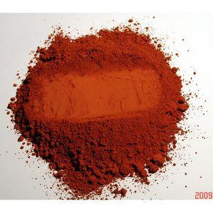 PEINTURE - VERNIS rouge - 5KG - Pigment naturel pour peinture Ocre R