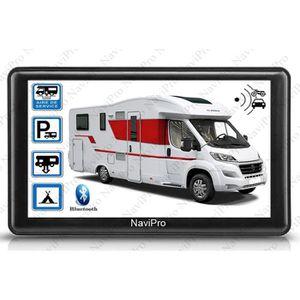 PACK GPS AUTO GPS CAMPING CAR 7 POUCES EUROPE A VIE AIRES DE CAM