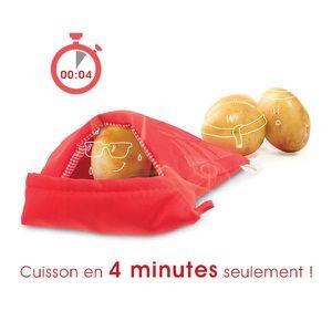 poche de cuisson pour pommes de terre sp ciale micro ondes achat vente sac de cuisson poche. Black Bedroom Furniture Sets. Home Design Ideas