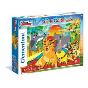 PUZZLE LE ROI LION Puzzle SuperColor 24 pièces Maxi