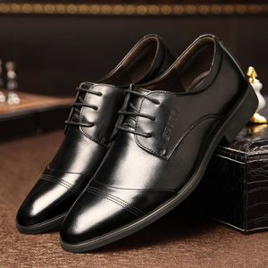 DERBY cuir hommes chaussures habillées Mode hommes ch...