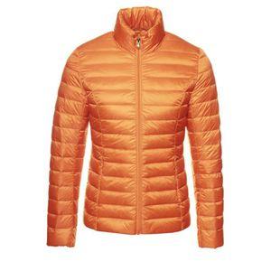 4bfcd59d80d Doudoune orange femme - Achat   Vente Doudoune orange Femme pas cher ...