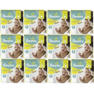 COUCHE Pampers Premium Protection Taille 3 Midi 5-9kg 348