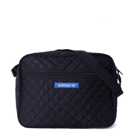 dbcab6fa1e Sac bandoulière Adidas Originals Airliner Nylon Noir - Achat / Vente besace  - sac reporter 4054709402562 - Cdiscount