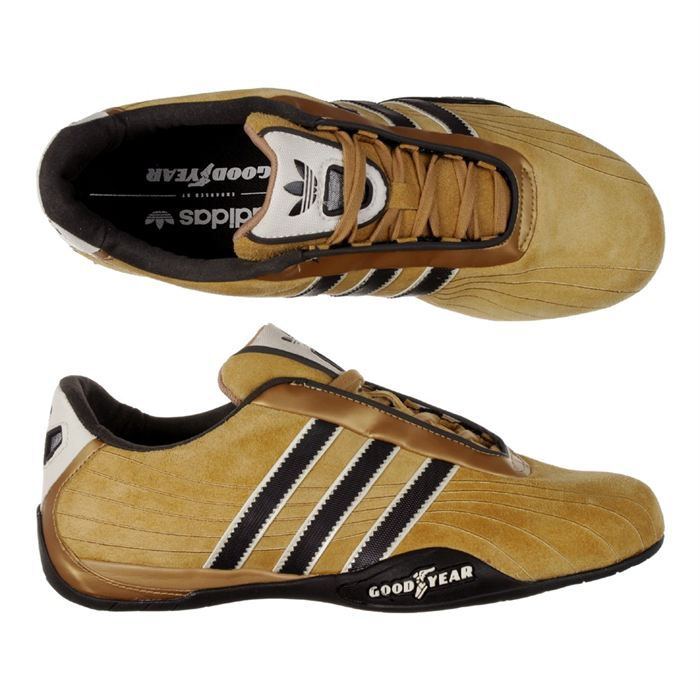 adidas chaussure goodyear racer homme achat vente basket soldes d s le 10 janvier cdiscount. Black Bedroom Furniture Sets. Home Design Ideas