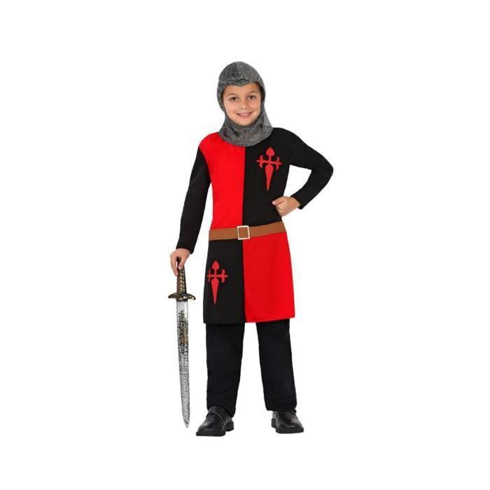 ATOSA Deguisement De Chevalier Medieval Garcon T1 - Garçon - A partir de 3 ans - Livré à l'unitéDEGUISEMENT - PANOPLIE DE DEGUISEMENT